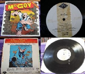 McCOY: Mini Album 1983 LP (LEGACY LLM 10). Used / second hand. NWOBHM a la Samson, Mammoth. + Fleetwood Mac cover.