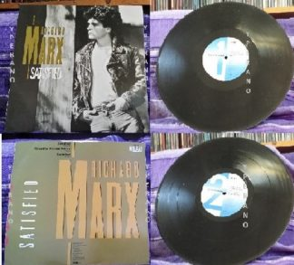 "RICHARD MARX: Satisfied 12"" (Extended Rock Mix + single mix), ""Should've Known Better"" (live). Check videos"