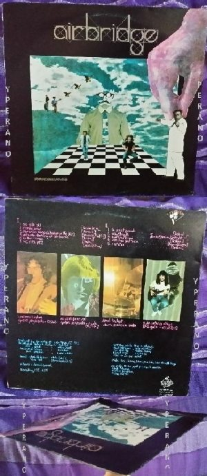 AIRBRIDGE: Paradise Moves LP 1982 UK PRIVATE. Great NEO PROG. Mint condition. Check samples