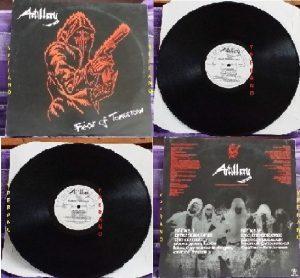 ARTILLERY: Fear of Tomorrow LP (Neat Records, 1985). Rare original UK pressing. Top technical Thrash Metal from Denmark