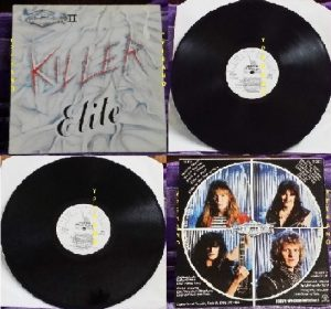 AVENGER II: Killer Elite LP. Killer NWOBHM. & 2 videos