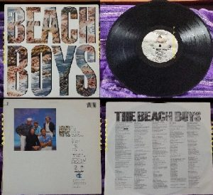 The BEACH BOYS: the Beach boys LP bfz 39946 U.S.A. 1985. Check videos