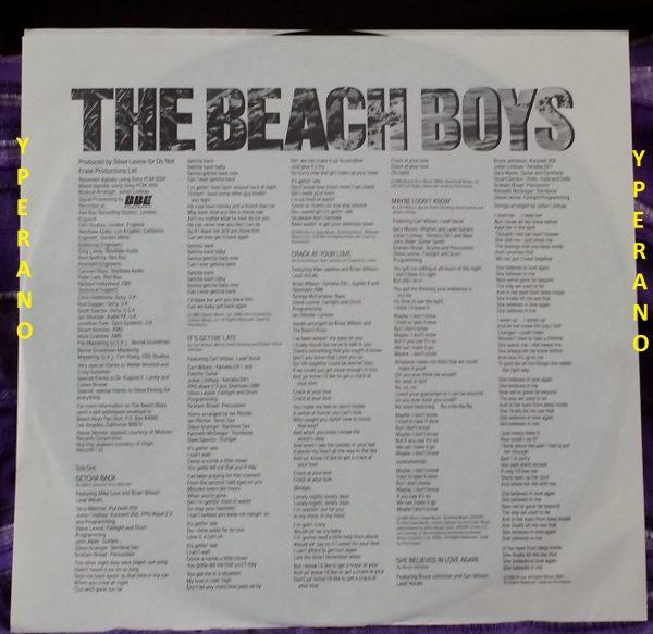 The BEACH BOYS: the Beach boys LP bfz 39946 U.S.A. 1985. Check videos