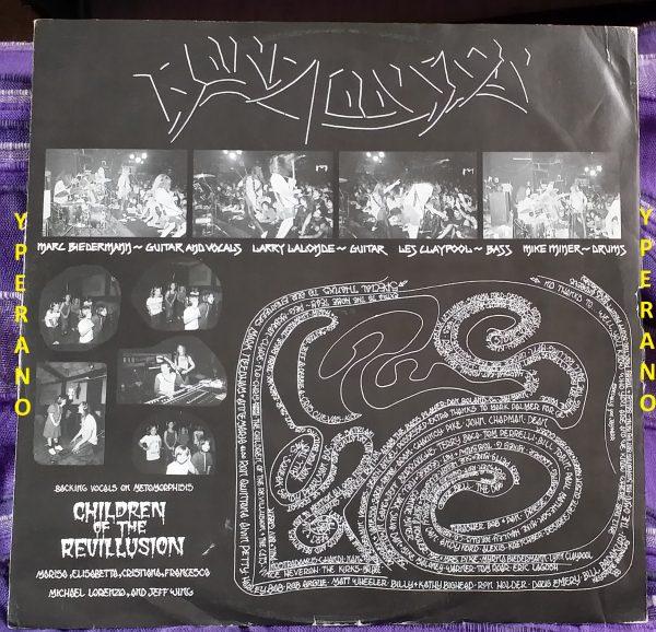 BLIND ILLUSION: The Sane Asylum LP 1988 Underrated Metal Classic! Primus bass Les Claypool + guitar Larry LaLonde