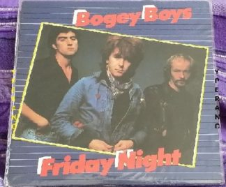BOGEY BOYS: Friday Night LP 1979 Irish rockers a la Thin Lizzy. + with Phil Lynott's post-Lizzy band Grand Slam. Check audio
