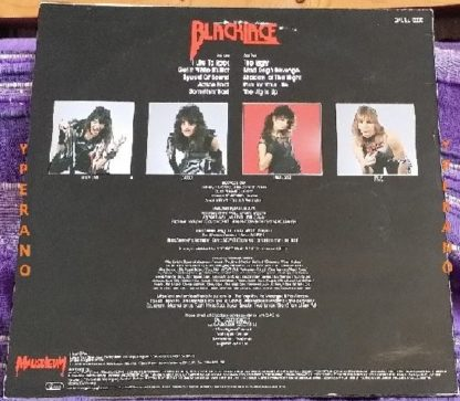 BLACKLACE: Get it whilst it's hot LP. Female fronted super Metal. Check video