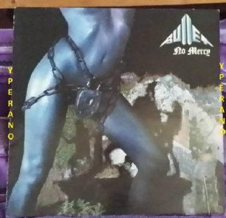 "BULLET: No Mercy LP. Mint vinyl 1984. German Metal. Check the cool ""I Sold My Soul To Rock'N Roll"" & ""Look Out"" videos"
