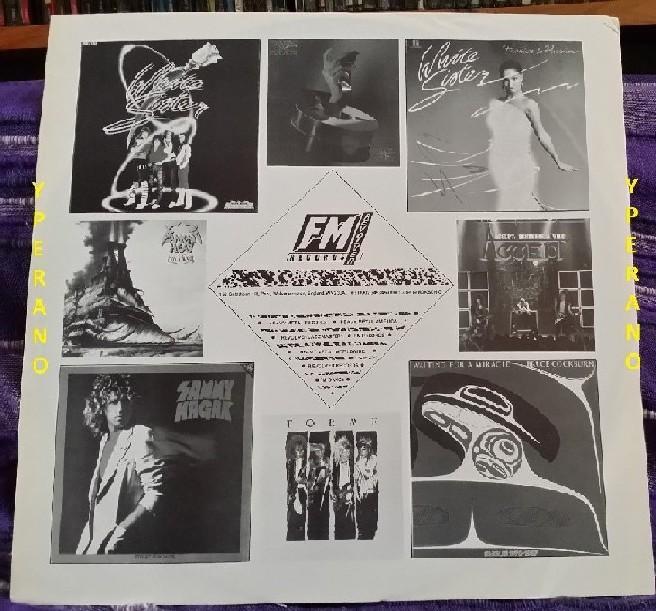 DARK STAR: Real to Reel LP (UK issue, inner, FM Records) Mega N W O B H M   / A O R classic  Check audio samples