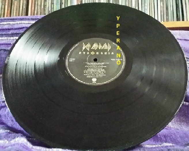 Def Leppard Pyromania Lp Canadian Issue 1983 Check Videos