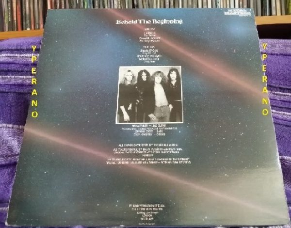 DIAMOND HEAD: Behold the beginning LP UK 1986. Check samples