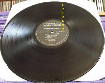 DIAMOND HEAD: Behold the beginning LP UK 1986. Check samples