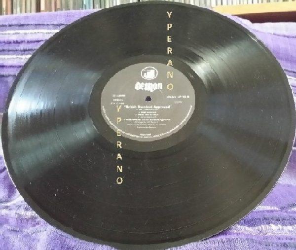 DEMON: British Standard Approved LP Progressive hard rock. Check audio