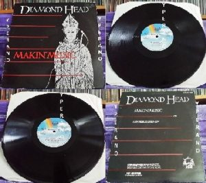 "DIAMOND HEAD: Makin' Music 12"". Both sides EXTENDED, double in size than the 7"" version. 1983. Check sample"