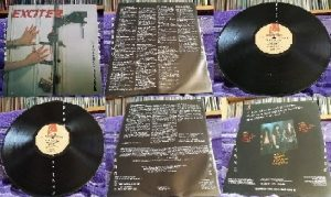 EXCITER: Violence n Force LP. vinyl in Mint condition. Check audio