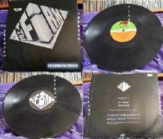 "The FIRM: Radioactive 12"" + live songs. Led Zeppelin's Jimmy Page, Paul Rodgers, Tony Franklin, Chris slade. Check video"
