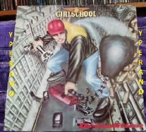 GIRLSCHOOL: Demolition LP UK 1980 a NWOBHM Classic! Check audio