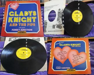 Gladys Knight And The Pips With Guests Funky Junction (Thin Lizzy members): Especially For You LP. Check samples