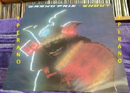 """GRAND PRIX: Shout 12"""". Top NWOBHM. Robin McAuley on vocals. +2 live (Reading Festival, 1982). Check video. Recommended"""