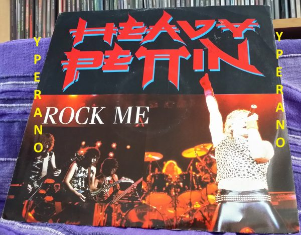 """HEAVY PETTIN: Rock Me 12"""" produced by Brian May. Top Hard Rock, Heavy Metal. Check video"""