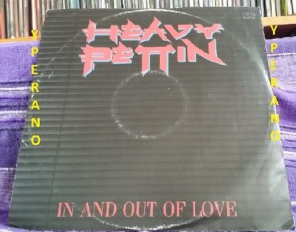 "HEAVY PETTIN: In and out of Love 12"" produced by Brian May + live @ Rock Show, BBC Radio 1. Check videos 1983"