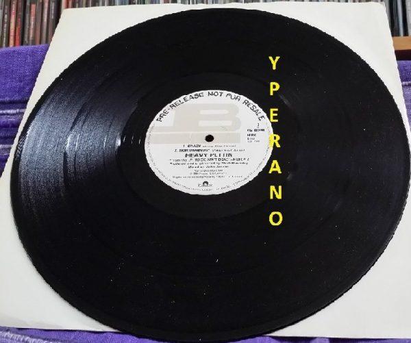 "HEAVY PETTIN: Sole Survivor Promo 12"" HEPX 4 DJ in MINT condition. NWOBHM. Ultra rare. Pre-release not for sale."