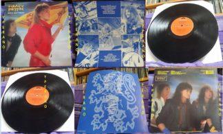 HEAVY PETTIN: Rock Ain't Dead LP PROMO + inner. 1985 NWOBHM masterpiece. Vinyl in MINT condition, original UK
