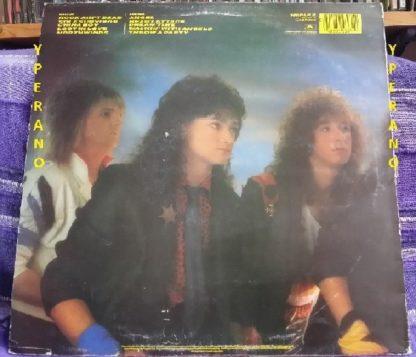 HEAVY PETTIN: Rock Ain't Dead LP 1985 NWOBHM masterpiece. Original UK.