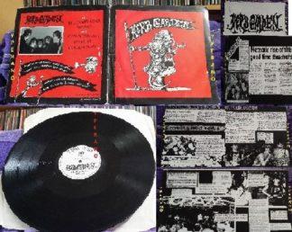 "HERB GARDEN: Bulldozer Jones 12"" EP 1989 + 4 info sheets. Great Bristol Funk Punk rock / hard psych-thrash. SAMPLES"