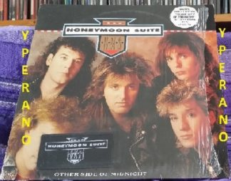 "HONEYMOON SUITE Other Side of Midnight 12"" (1988) + free Honeymoon Suite Patch. Shrink wrapped. Check videos"