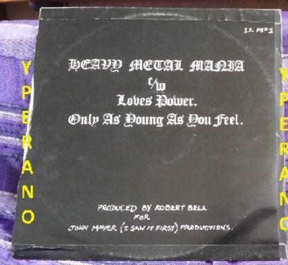 "HOLOCAUST: Heavy Metal Mania 12"". 1980 NWOBHM. Check video"