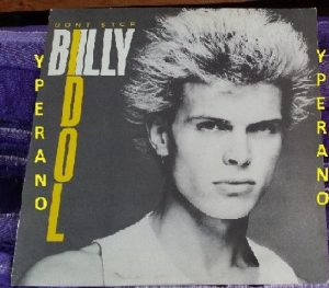 "BILLY IDOL: Don't Stop 12"" Great 4 song E.P. UK 1981 incl. Dancing With Myself (Long Version). Check audio"