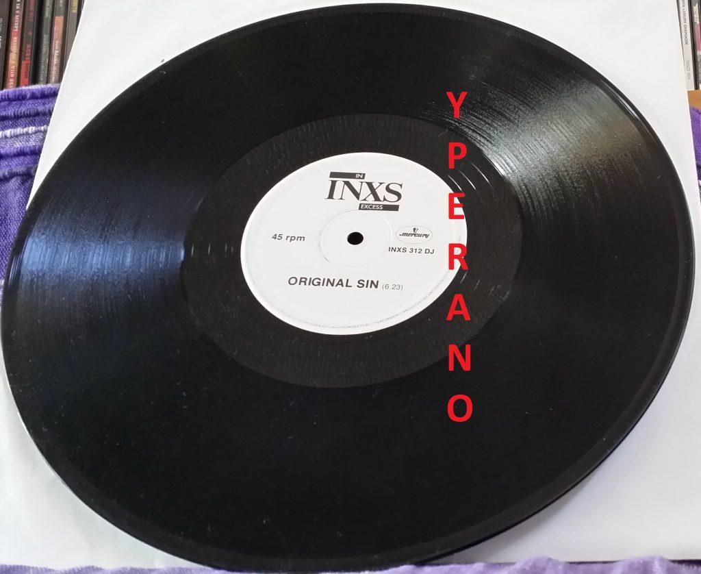 "INXS: Original Sin 12"" DJ PROMO 1983 UK. Check video."