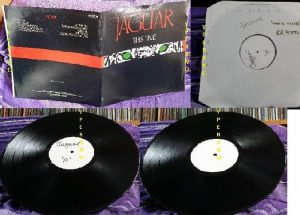 JAGUAR This Time LP white label test pressing. Mint condition Ultra rare. The NWOBHM band