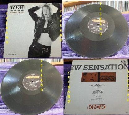 "INXS: New Sensation 12"" UK. Check video"