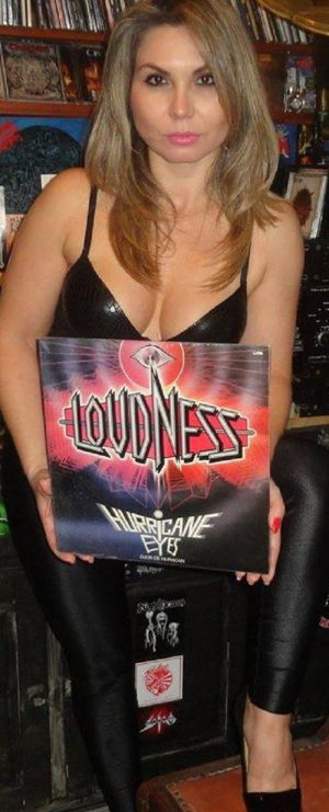 LOUDNESS: Hurricane Eyes LP 1987. Fucking awesome, their best ever. Check video