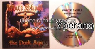 WHITE SKULL: The Dark Age PROMO CD. It is all about the Medieval Times, Epic Stories, Viking Tales..Power Metaaaaal!!
