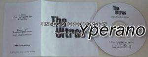 The ULTRAS: Shine, Set the night on fire, Hurt you CD. Rock / Alternative. s.