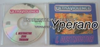 ULTRAVIOLENCE: I, Destructor CD single. Earache Records! Electronic Hardcore 1994. .