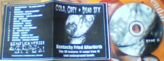 V.A: Cold, Grey + Dead Six CD. Compilation of Death, Black, Grind, Thrash London bands.