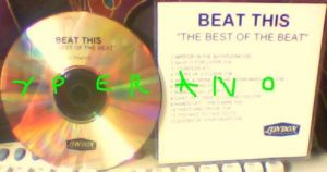 The (ENGLISH) BEAT: Beat This (the best of the Beat) CDR label PROMO. Reggae / Ska. + Andy Williams cover!