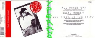 PAT BENATAR All Fired Up CD single, Limited Edition UK. Check video