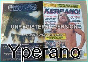 KERRANG 292, JUNE 1990 Red Hot Chili Peppers on cover, Killer Dwarfs, Sepultura, Lita Ford, Satriani, Metallica, Little Angels