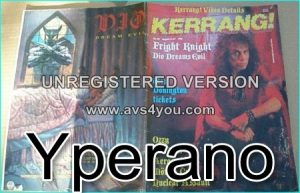 KERRANG NO. 152 AUG 6 1987 (RONNIE JAMES DIO cover, OZZY, BON JOVI, Aerosmith, Roger Daltrey, AEROSMITH)