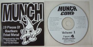 MUNCH Compilation volume 1 (Figure Productions) Free for orders of £45+