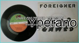 "FOREIGNER: Head Games + Do What you like 7"" uk. Check video"