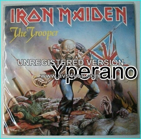 """IRON MAIDEN: The Trooper 7"""" + Cross Eyed Mary (Ian Anderson, Jethro Tull cover)"""