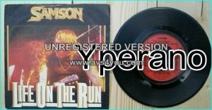 "SAMSON: Life on the Run 7"" + DRIVIN' WITH ZZ! Check video"