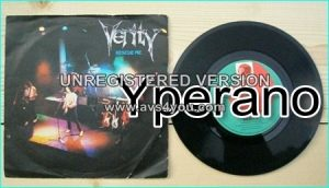 "VERITY: Rescue Me 7"" + Stop Pretending. John Verity on vocals ex Argent and Phoenix singer. Hard Rock anthem! ."