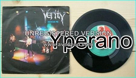 "VERITY: Rescue Me 7"" + Stop Pretending. John Verity on vocals ex Argent and Phoenix singer. Hard Rock anthem! ."
