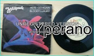 "WHITESNAKE: Here I Go Again 7"" + Bloody Luxury. [original version] BP416. Check videos."
